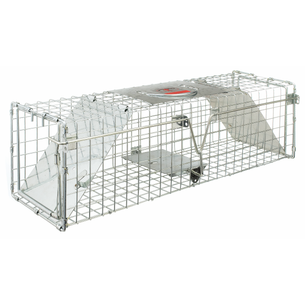 "24"" x 7"" x 7"" Double-Door Entry Live Animal Trap"