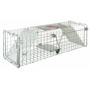 "24"" x 7"" x 7"" Double Door Entry Live Animal Trap"