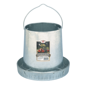 12 lb Hanging Metal Poultry Feeder