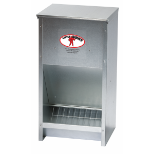 Galvanized High Capacity Poultry Feeder