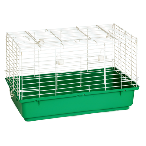"24.5"" x 14"" x 16.5"" Small Plastic Bottom Rabbit Home"