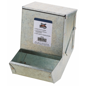 Metal Small Animal Feeder with Lid