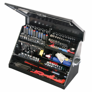 "30"" Portable Steel Toolbox"
