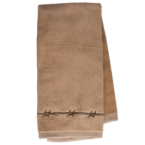 Kitchen Hand Towel with Barbwire Design