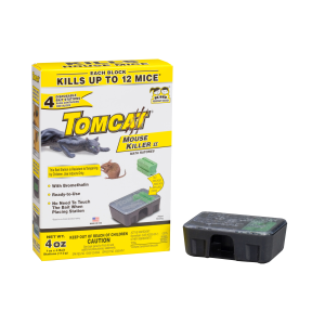 Tomcat Mouse Killer II Bait Station - 4 Pack