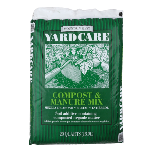 Compost and Manure Mix