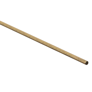 4052BC Solid Brass Smooth Rod