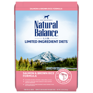 L.I.D. Limited Ingredients Diets Salmon & Brown Rice Dry Dog Formula
