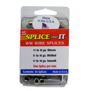 Woven/Smooth & Electric Splice 11-16 gauge