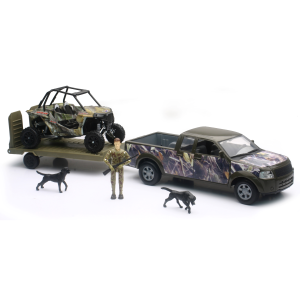 Wildlife Hunter Camo Pick Up Truck with Polaris RZR Hunting Set