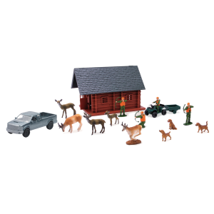 Wildlife Hunter Hunting Playset with Lodge - Assorted Styles