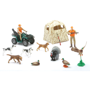 Murdoch S New Ray Toys Wildlife Hunter Hunting Playset Assorted