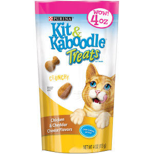 Crunchy Chicken and Cheddar Cat Treats