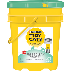 Free and Clean Unscented Clumping Litter