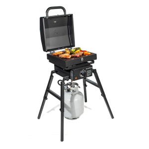 Single Burner Rec Stove with Tailgater Grill Box