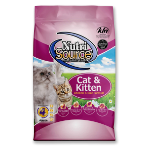 Cat & Kitten Chicken and Rice Cat Food