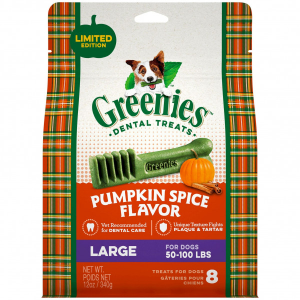 Pumpkin Spice Dental Treat - Large
