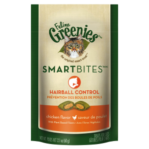 Cat Smartbites Treats-Hairball Control-Chicken