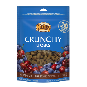 Crunchy Dog Treats with Real Mixed Berries