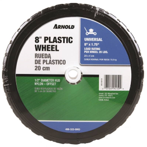 "8"" x 1.75"" Plastic Wheel"