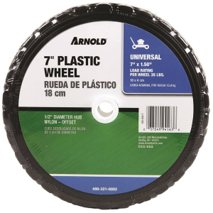 "7"" x 1.5"" Plastic Wheel"