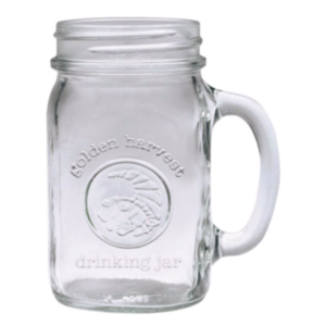 16 oz Golden Harvest Embossed Drinking Mug
