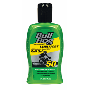 Land Sport with Breathable Sweat TECH Quick Gel SPF 50