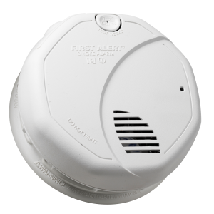 Battery Operated Dual Sensing Photoelectric and Ionization Smoke Alarm