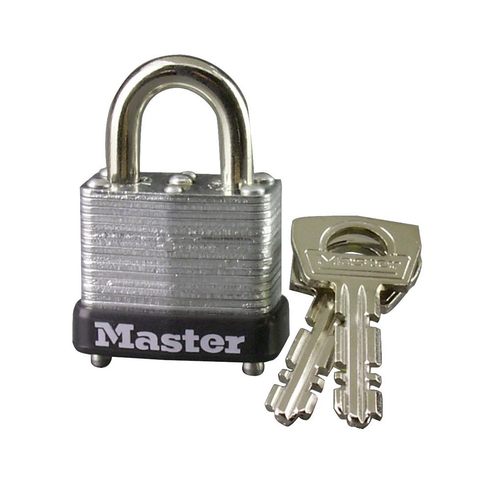 "Murdoch's - Master Lock - 1"" Wide Laminated Steel Warded ..."