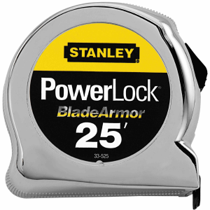 25 ft. PowerLock Tape Rule with BladeArmour