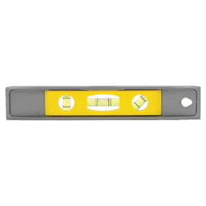 "9"" Magnetic Cast Aluminum Torpedo Level"