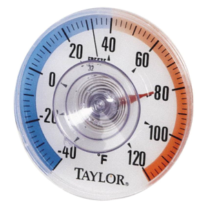 "3.5"" Weather Resistant Round Dial Thermometer"
