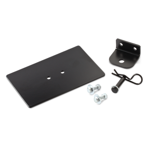 Universal Rear Sled Hitch Receiver with Pin