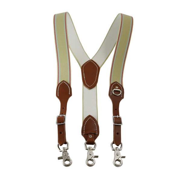 Traditional Suspenders with Scissor Snaps