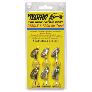 Best of the Best Deadly 6-Pack Spinners for Trout