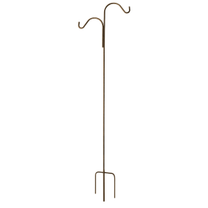 Double Hook Bronze Homeland Shepherd Hook