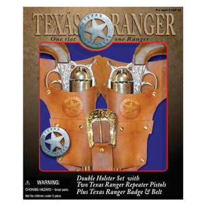 Texas Ranger Double Holster Set