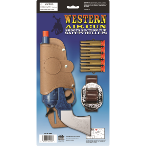 Western Air Pistol with Single Holster Set