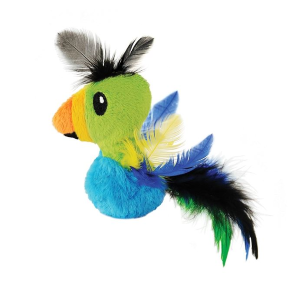 Feather Toucan Cat Toy