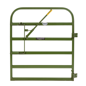 "Heavy Duty Gate with Lever Latch 52"" H"