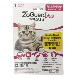 ZoGuard Plus for Cats (1.5 lbs & over)