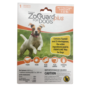 ZoGuard Plus for Dogs (5-22 lbs)