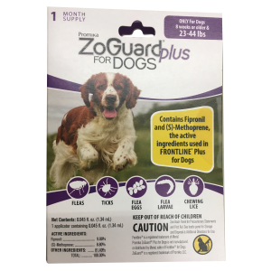 ZoGuard Plus for Dogs (23-44 lbs)