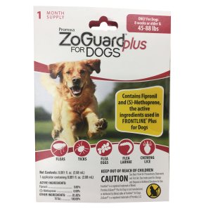 ZoGuard Plus for Dogs (45-88 lbs)