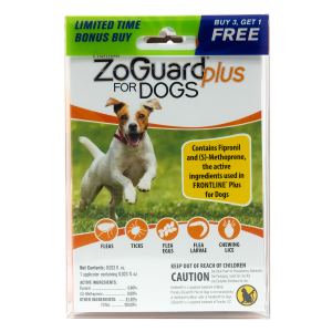 ZoGuard Plus for Dogs (5-22 lbs) - Bonus Pack