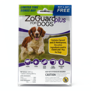 ZoGuard Plus for Dogs (23-44 lbs) - Bonus Pack