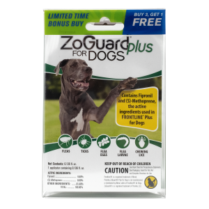 ZoGuard Plus for Dogs (89-132 lbs) - Bonus Pack