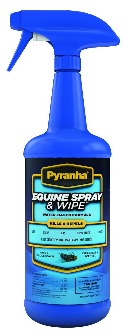 Murdoch S Pyranha Equine Spray And Wipe