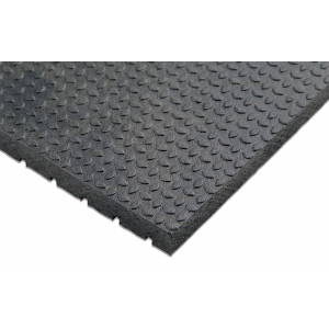 Horse Stall Mat PUNTER Top with Wide Rib Bottom