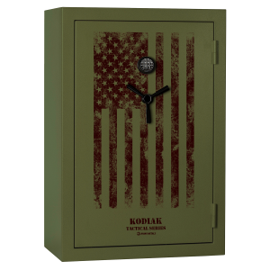 38 Long Gun Tactical Safe with E-Lock and Flag